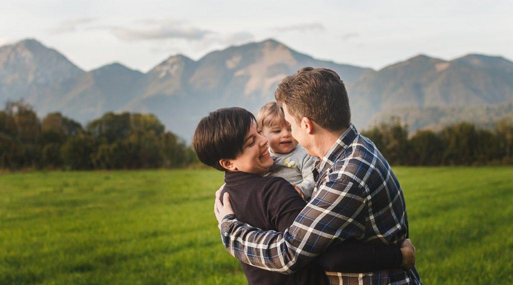 Družinsko lifestyle fotografiranje